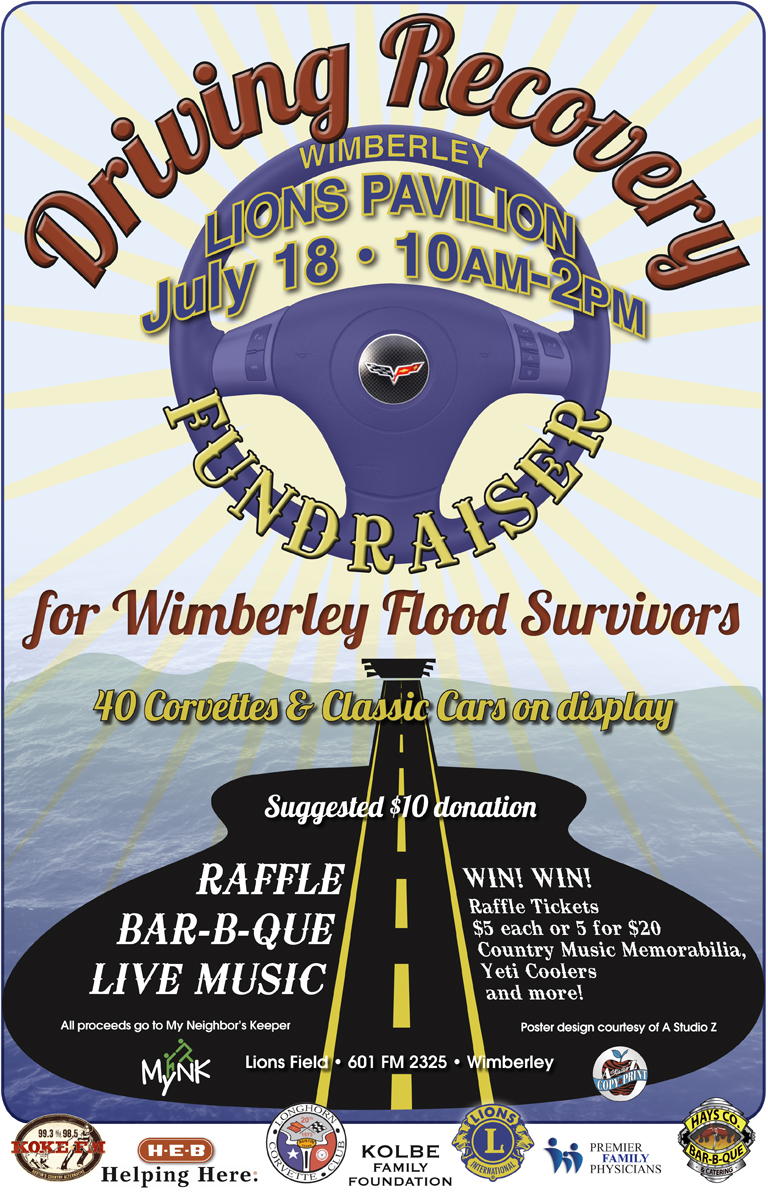 Wimberley Driving Recovery Fundraiser